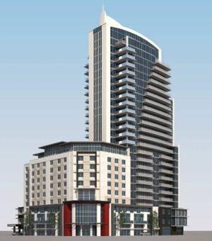 skpic new proposed hotel and condo regina
