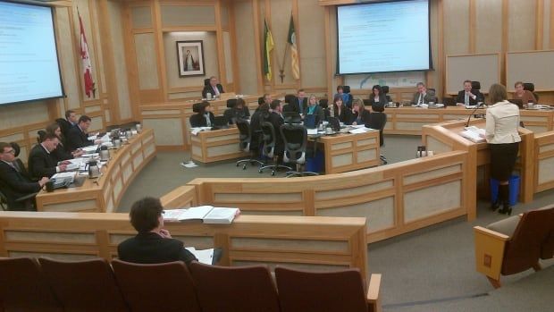 Saskatoon city council reviews budget for 2014.
