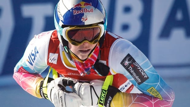 American skier Lindsey Vonn plans to enter all three events this weekend in Lake Louise, Alta.