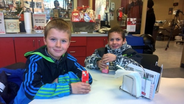 Cadence and Cohen Haaland receive monthly blood transfusions.