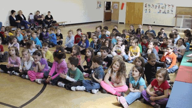Ian Baillie Primary School in Miramichi has a mould problem.