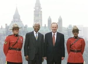Nelson Mandela and Jean Chrétien 20131205