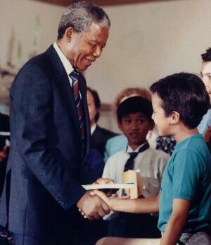 NELSON MANDELA 19900619