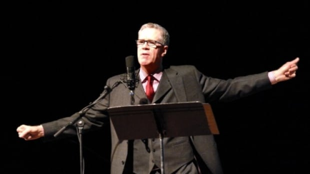 Stuart McLean of CBC's Vinyl Cafe is performing at the Jubilee Auditorium on Sunday.