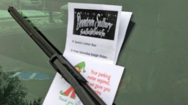 Parking elves ticket