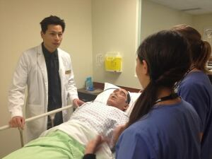 nathan Lau nurse instructor