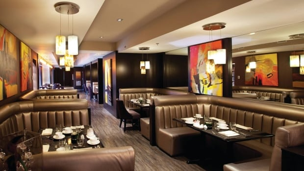 The Calgary Eyeopener's restaurant reviewer, John Gilchrist, gives Habitat 7.5 out of 10.
