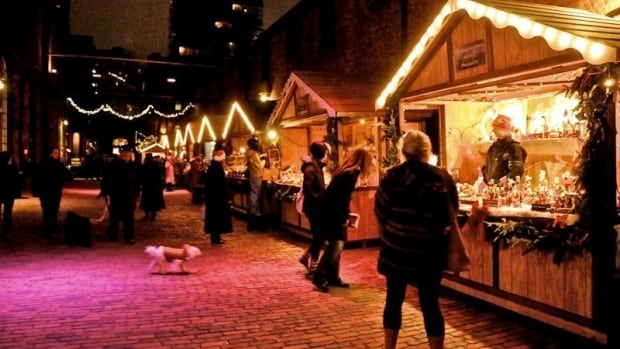 A trip to the Distillery is a trip to the Toronto Christmas Market.
