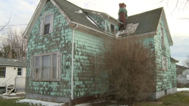 Neighbours on Sheen Street want something done about this crumbling home.