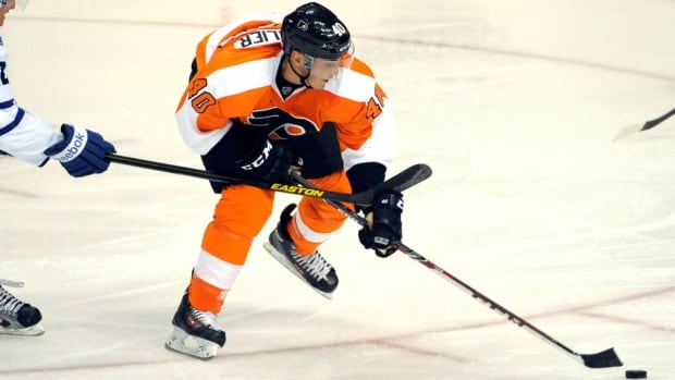 Philadelphia Flyers forward Vincent Lecavalier joined the club this past off-season as a free agent.