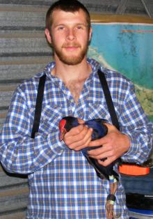 McMaster biologist Cody Dey