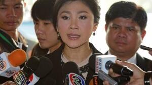 Thailand protest_Yingluck Shinawatra