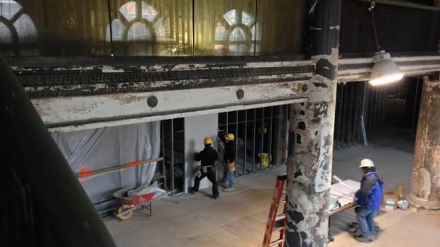 Workers have started rehabilitating the Royal Connaught Hotel, the once-famous hotel at King and John in downtown Hamilton.