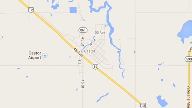 Castor is 140 kilometres east of Red Deer, Alta.