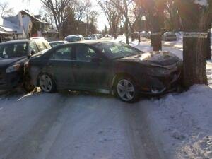 Overdale Street crash