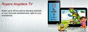 Rogers TV app