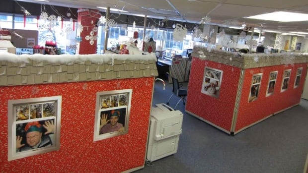 North Pole Cubicle Contest Liette Guerin Jpg