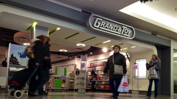 Grand & Toy has been in Jackson Square since the mall opened in 1972. It closes next week.