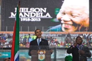 South Africa Mandela Interpreter