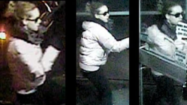 The RNC have released security images of a woman suspected of trying to rob a Marie's Mini Mart in St. John's last week.