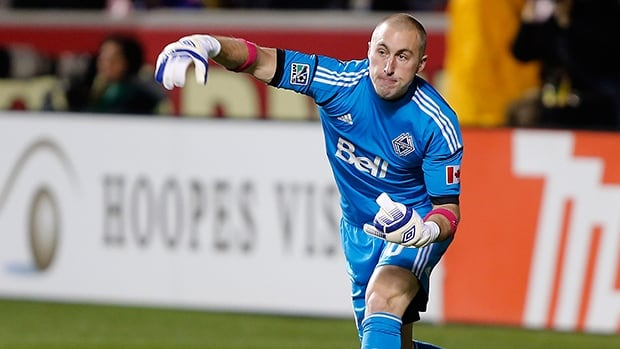 Goalie Brad Knighton was 13-7-7 with eight clean sheets in all competitions with the Vancouver Whitecaps.