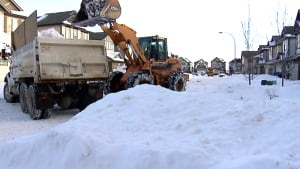 Calgary snow clearing