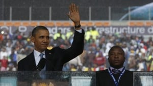 Obama, sign language