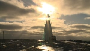 The lighthouse in Port au Choix
