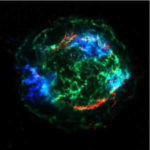 Casseiopeia A supernova remnant