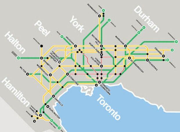 Metrolinx Transit projects