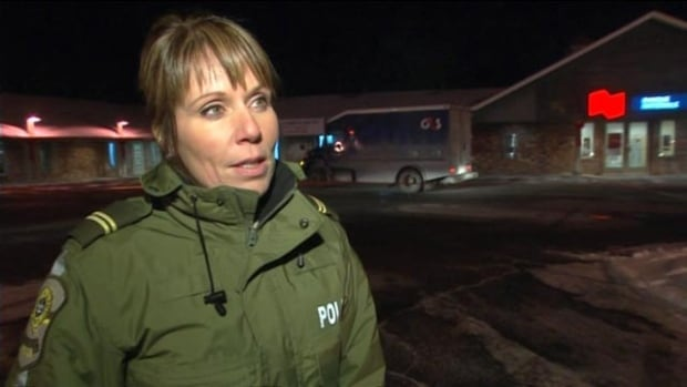 Sgt. Ingrid Asselin said the guards were not injured in the robbery.