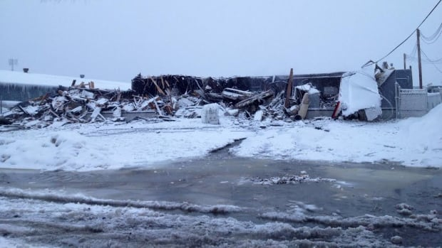 A fire in west Edmonton fire destroyed two businesses, Carley's Flooring and Spar Construction, over night.