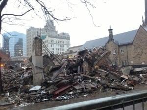 Jackson Building Demolished
