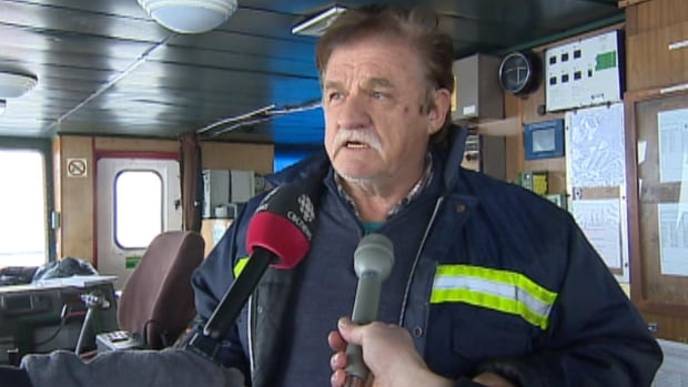 Navi-Wind captain Pero Metkovic said the storm at sea he experienced on Dec. 4 was the worst one of his seafaring career.