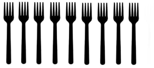 Gilchrist - 9 forks