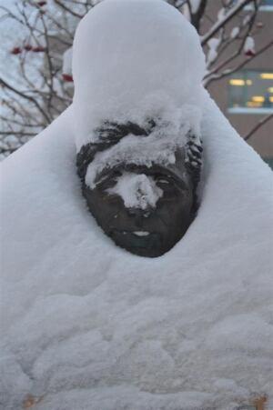 Snow on Jack London
