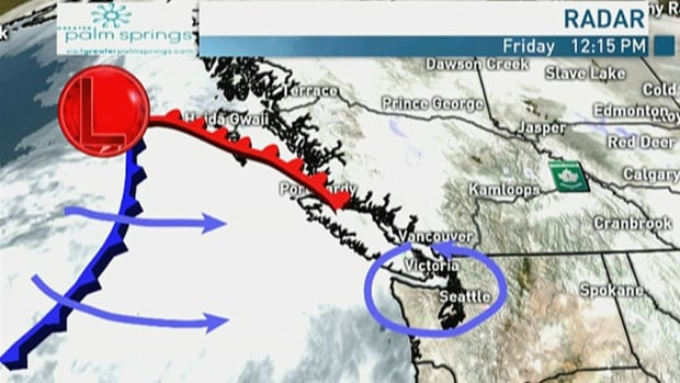 Metro Vancouver's mild and soggy weekend weather