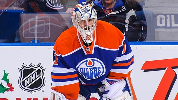 Jason LaBarbera  appeared in seven games this season with Edmonton.