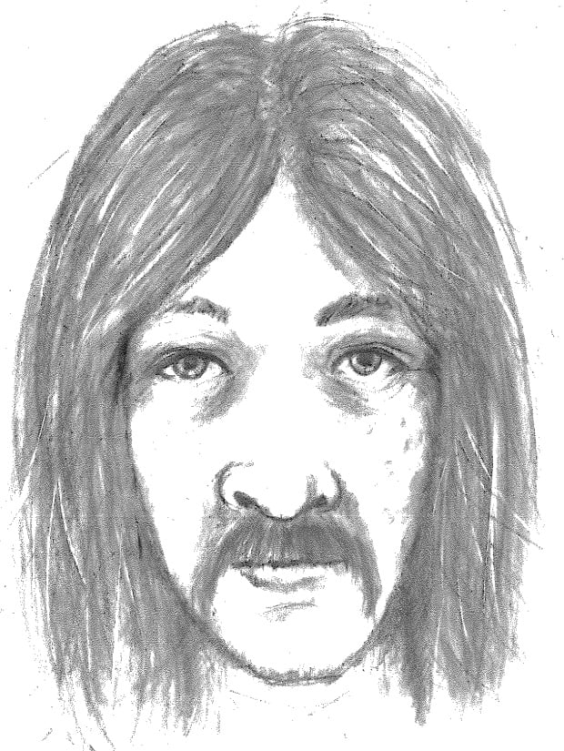 Sexual assault suspect sketch - Gladwin Road, Abbotsford
