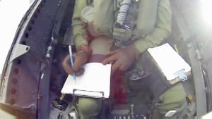 Drawing in a CF-18
