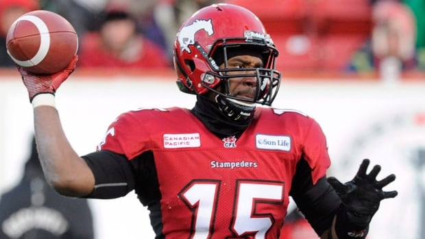 Veteran quarterback Kevin Glenn, who played for the Stampeders in 2013, was among the eight import players chosen by the Ottawa Redblacks in the first round of Monday's CFL expansion draft.