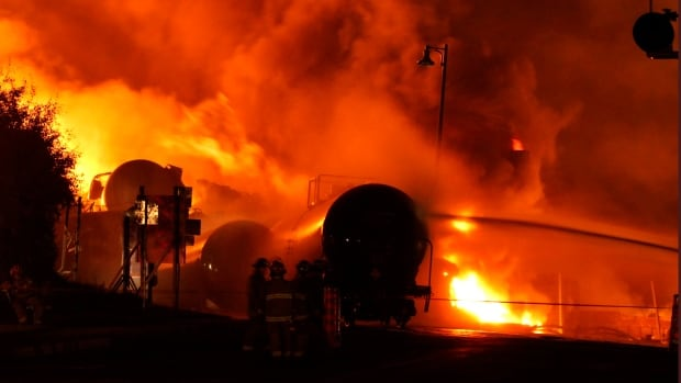 A train derailment and explosion in Lac-Mégantic, Que., in the early morning hours of July 6, 2013 killed 47 people and destroyed the downtown area of the town.