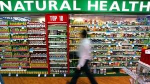 Vitamin, mineral pills