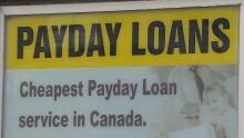 Payday loan sign Newfoundland CBC