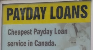 Payday loan sign Newfoundland CBC