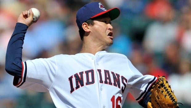 Tomo Ohka, shown here in 2009, is trying to make a return to the majors as a knuckleballer.