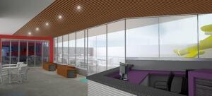 Iqaluit Aquatic Centre - interior