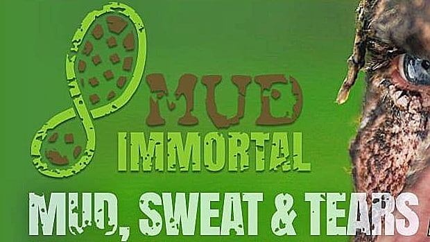 A portion of the Mud Immortal website is pictured in this screen grab from the Internet.