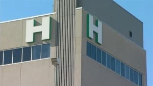 generic hospital sign