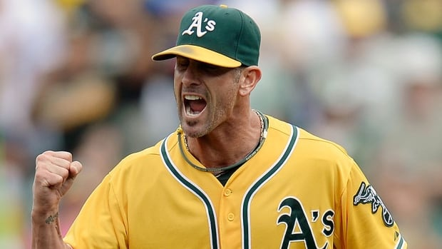 Former Athletics closer Grant Balfour will fill the same role with the Orioles next season after signing a reported two-year deal worth $15 million US. He converted 38 of 41 save opportunities with Oakland last season.